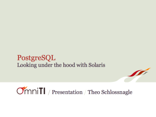 PostgreSQL on Solaris